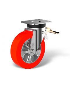 Lenkrollen Feststeller im Vorlauf (FSTR) mit Rad Type TE