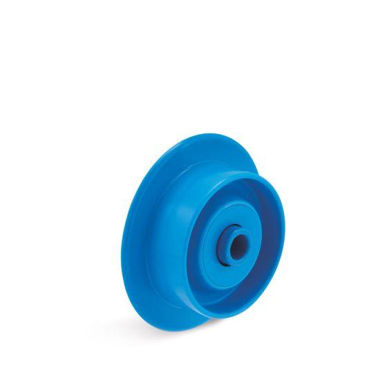 Spurkranzröllchen Kunststoff mit NIRO-Lager