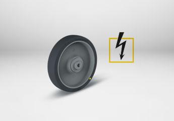 Elektrisch leitfähige Räder