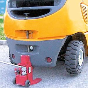 Forklifter im Einsatz
